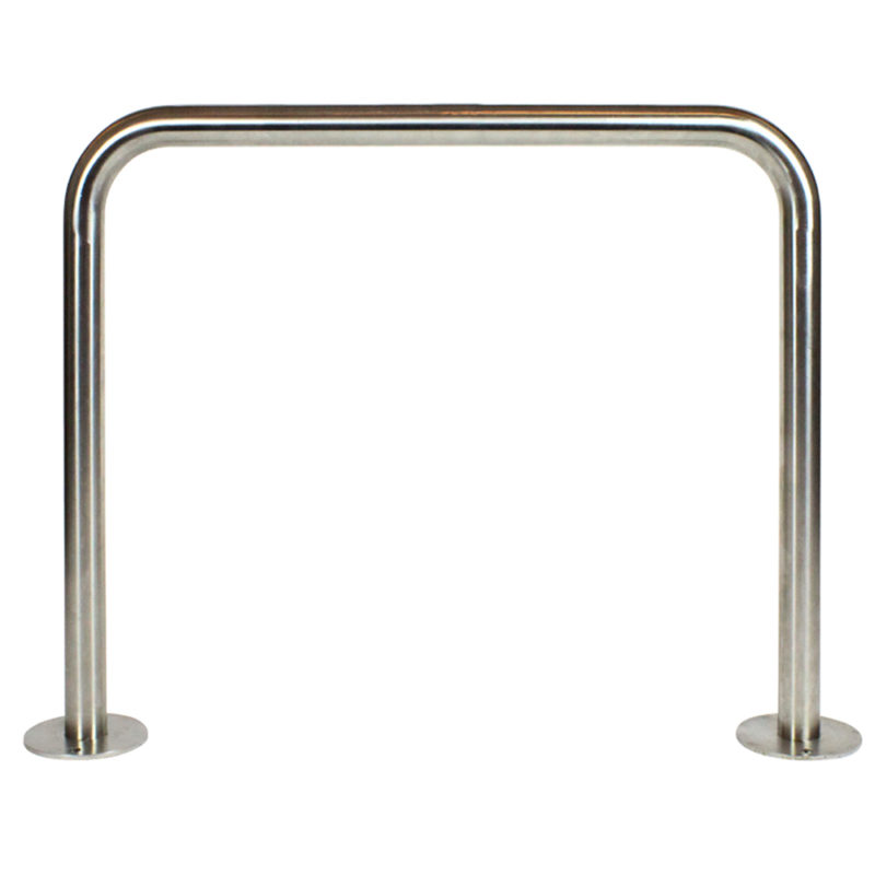 Flat top bike rails