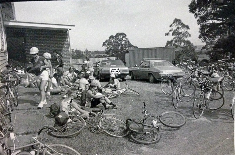 An early Great Vic run by Bicycle Network