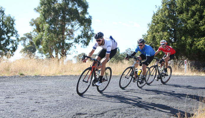 Riders riding through New South Wales