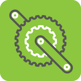 Bike maintenance icon