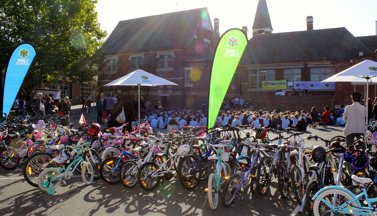 Ride2School school visit