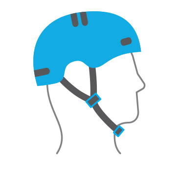 Bike helmet check guide