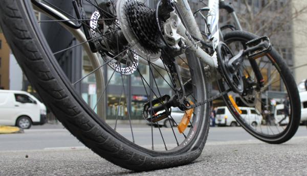 Bike puncture advice