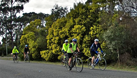 Bicycle Network Tasmania Social rides program