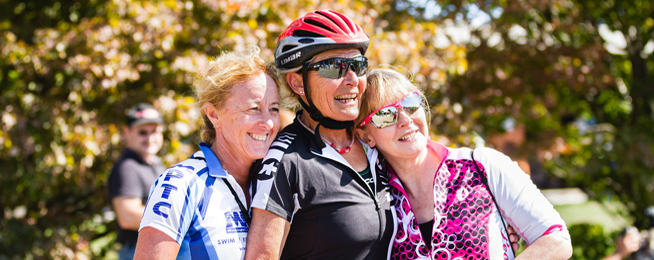 Women's Health Week social rides