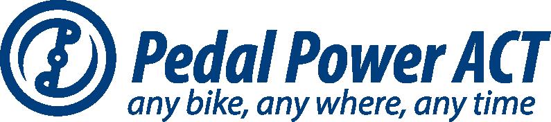 Pedal Power ACT logo
