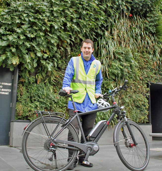 Travis Shields found taking control of the commute possible with a Bosch ebike