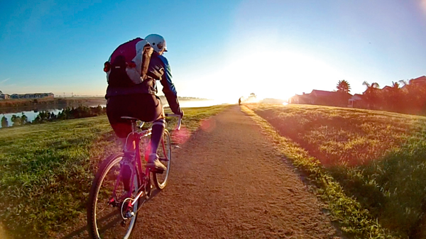 bike riding is easy, low-cost and healthy, setting you on the path to happiness