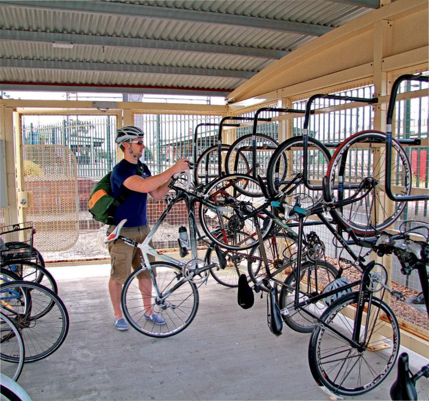 Using Parkiteer Bicycle Network