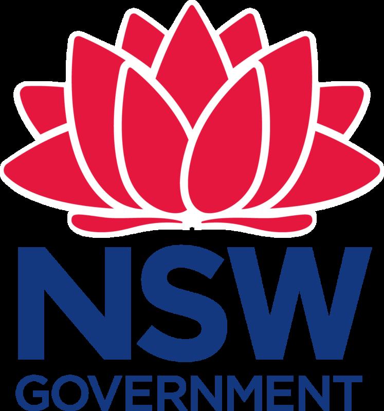 NSW govt Waratah logo