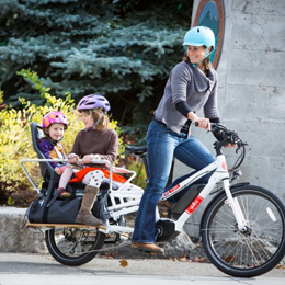 A premium cargo bike is an ideal family vechile