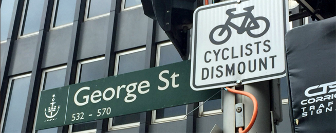 Bicycle Network will fight George Street ban