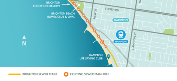 Riders should make the most of Beach Road through Brighton this holiday January as sewer works along the road look likely to start in February.