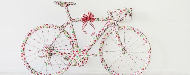 Christmas present bike Bicycle Network