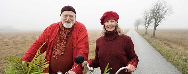 Sweden cykelpar