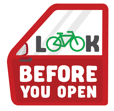 VicRoads Look before you open campaign image