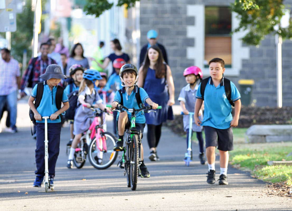 Ride2School VoteBike Tasmania