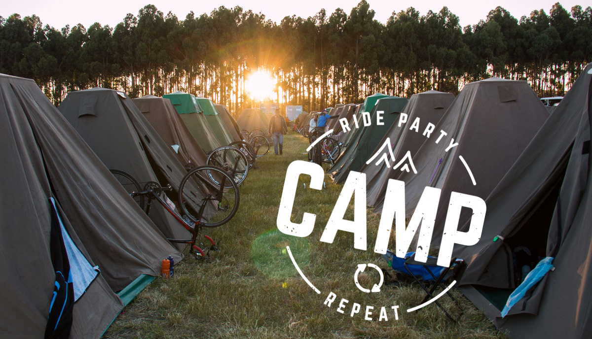 Camp - Great Vic Bike Ride