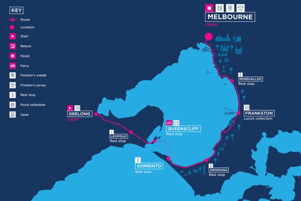 135 km route