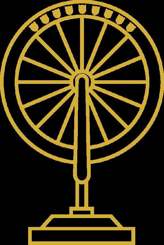 Ride2School Golden Wheel