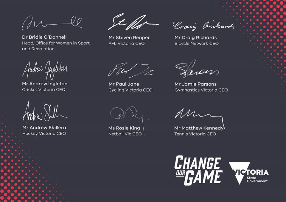 Change our game champions
