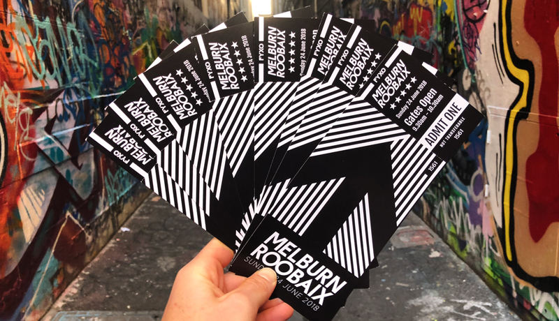 Score one of 8 FREE entries to Melburn Roobaix