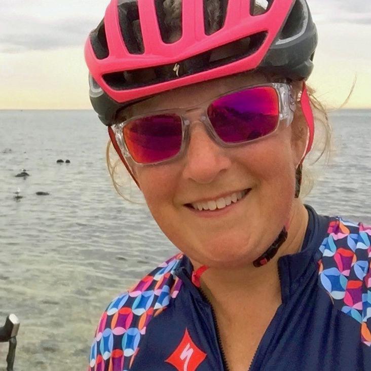 Tina McCarthy Wheel Women Around the Bay