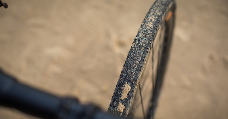 Gravel bike tyres
