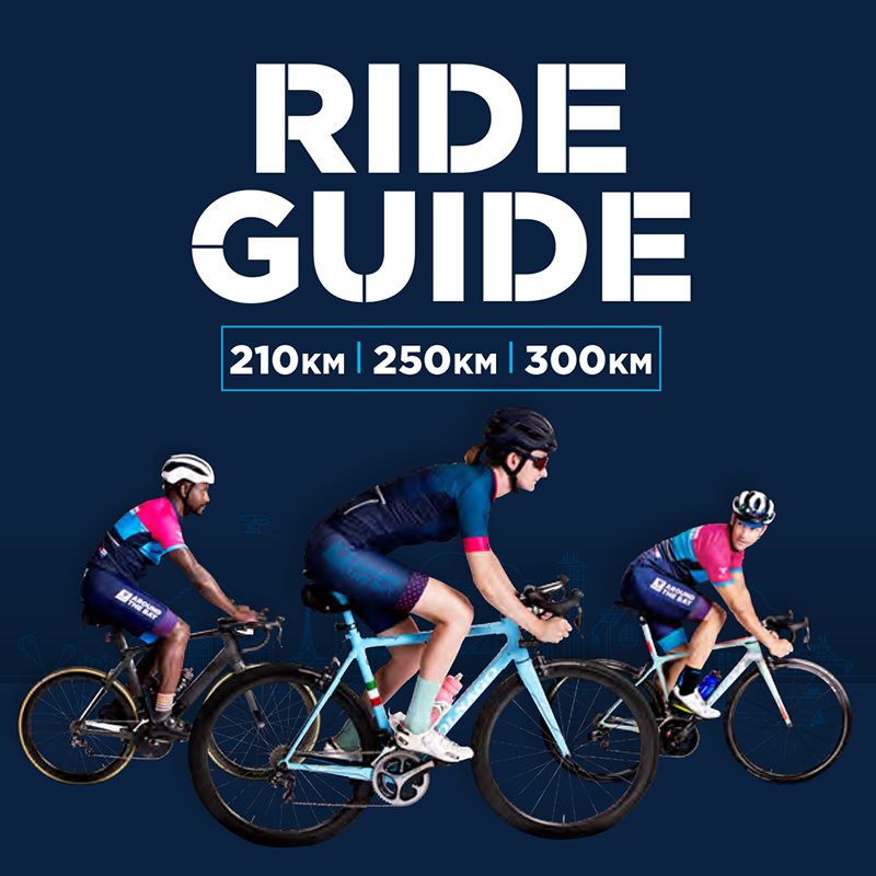 Long distance 2018 ride guide