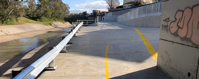 Dean Street Underpass at Moonee Ponds