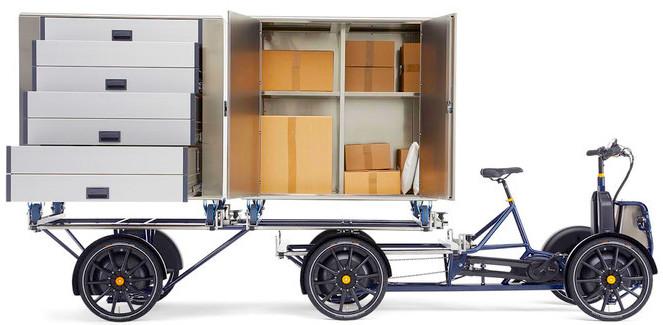 Gazelle D10 cargo bike