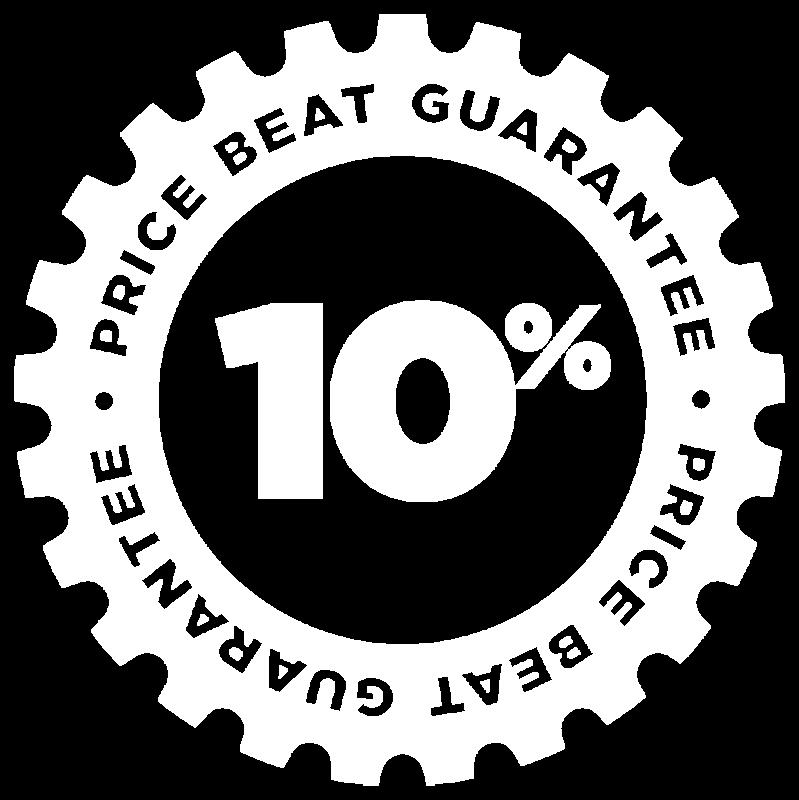 Bike Parking 10% price beat guarantee