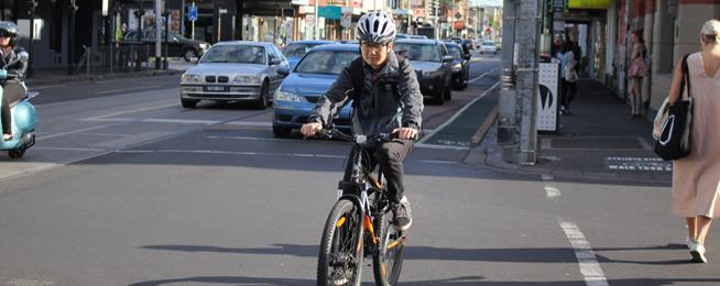 Sydney Road bike riders_Newsroom