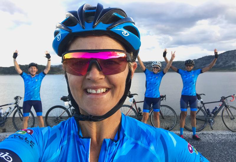 12 hour Team Bicycle Network wave leaders