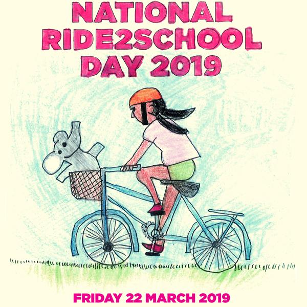 2019 Ride2School Day post