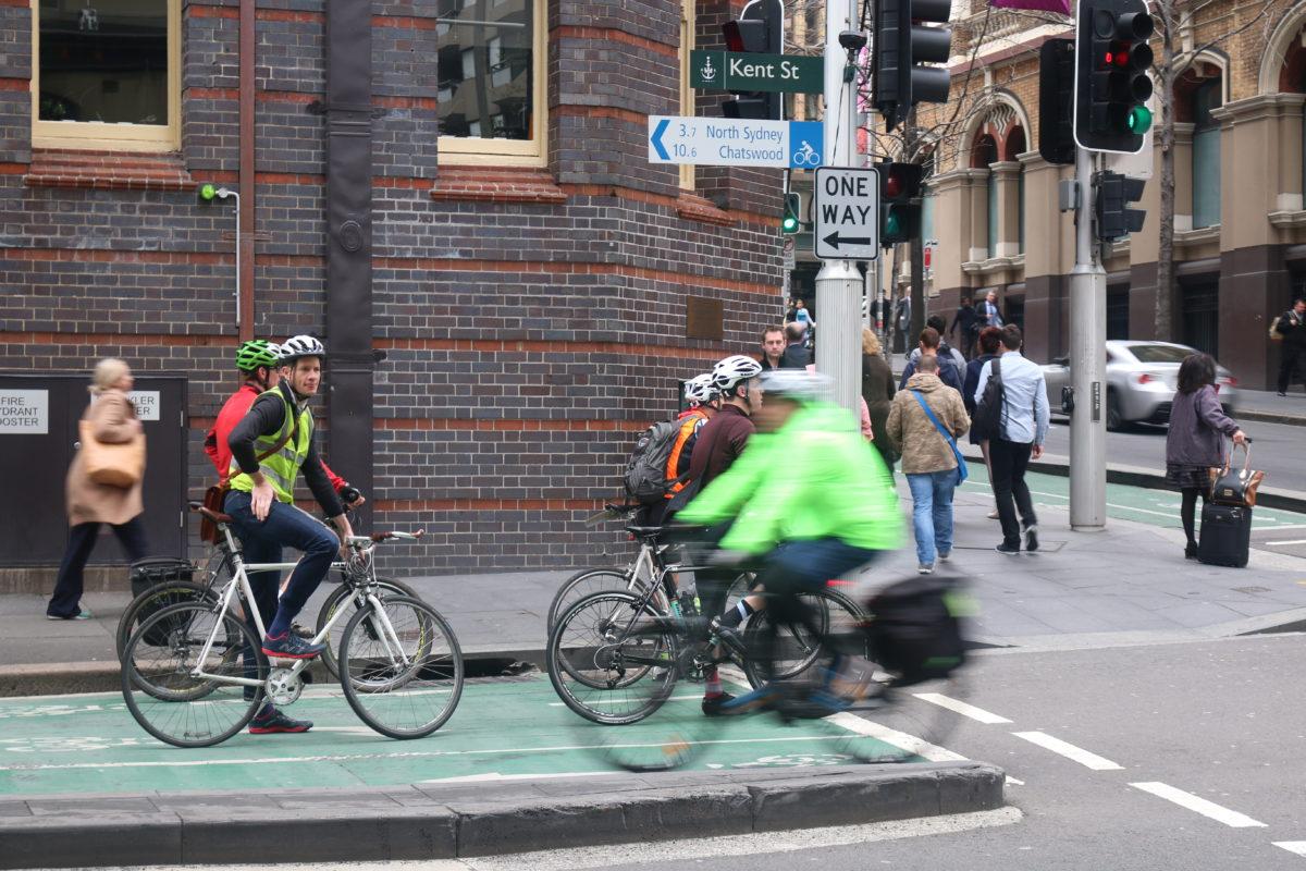 Kent Street cycleway