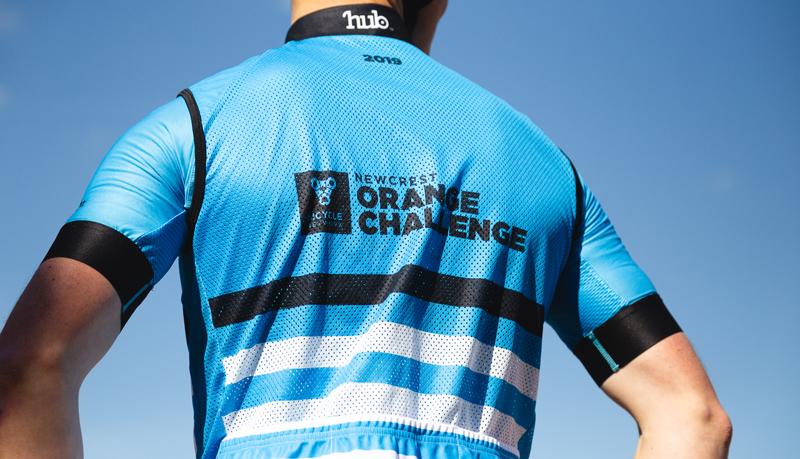 Newcrest Orange Challenge 2019 jersey