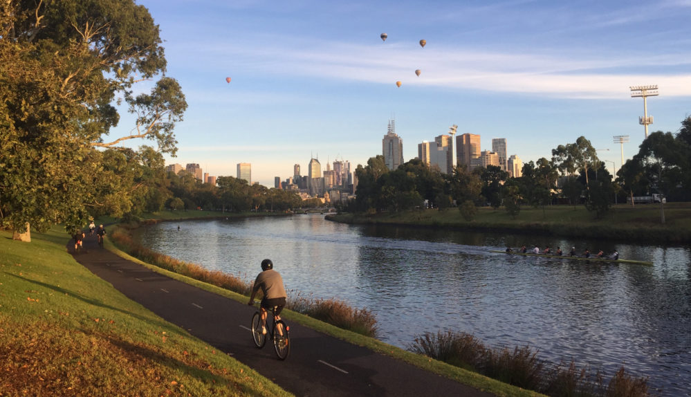 Melbourne bike commute