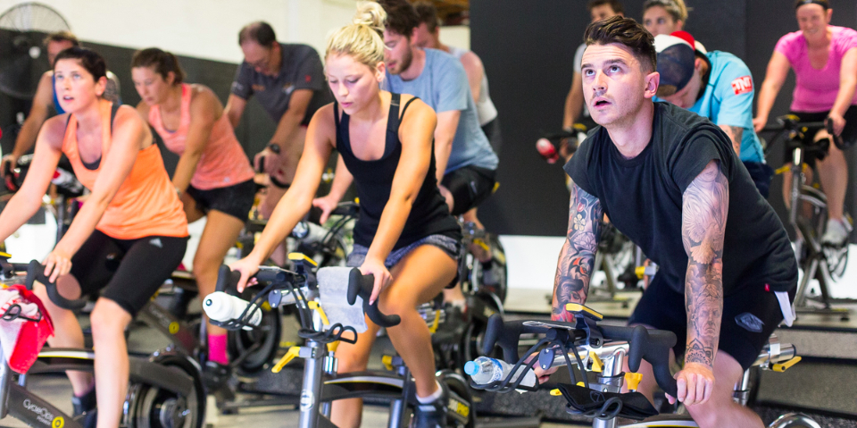Cycle Collective indoor training