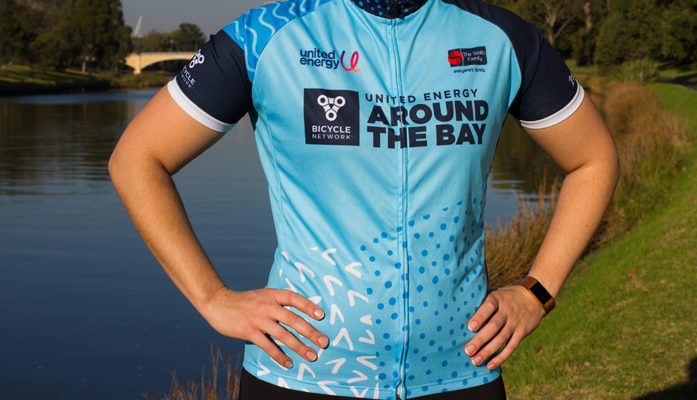 United Energy Around the Bay 2019 Jersey (front)