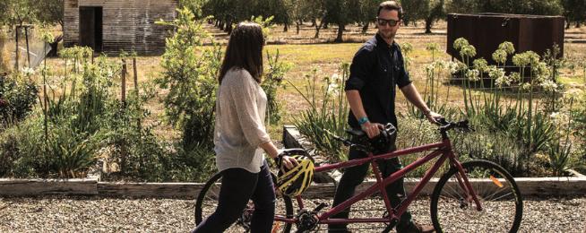 regional victorian bike tourism