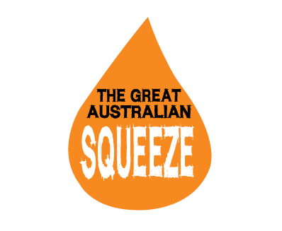 The Great Australian Squeeze logo