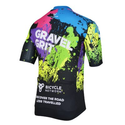 Gravel Grit Laguna 2019 Jersey (back)