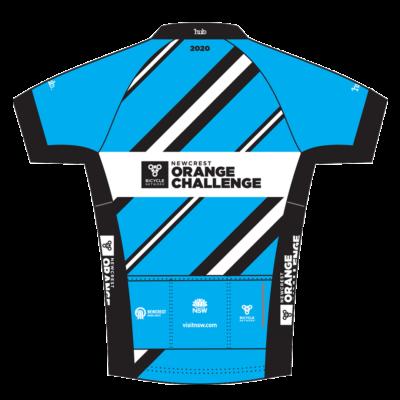 Newcrest Orange Challenge 2020 jersey (back)