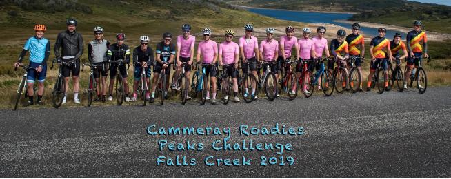 peaks challenge cammeray roadies