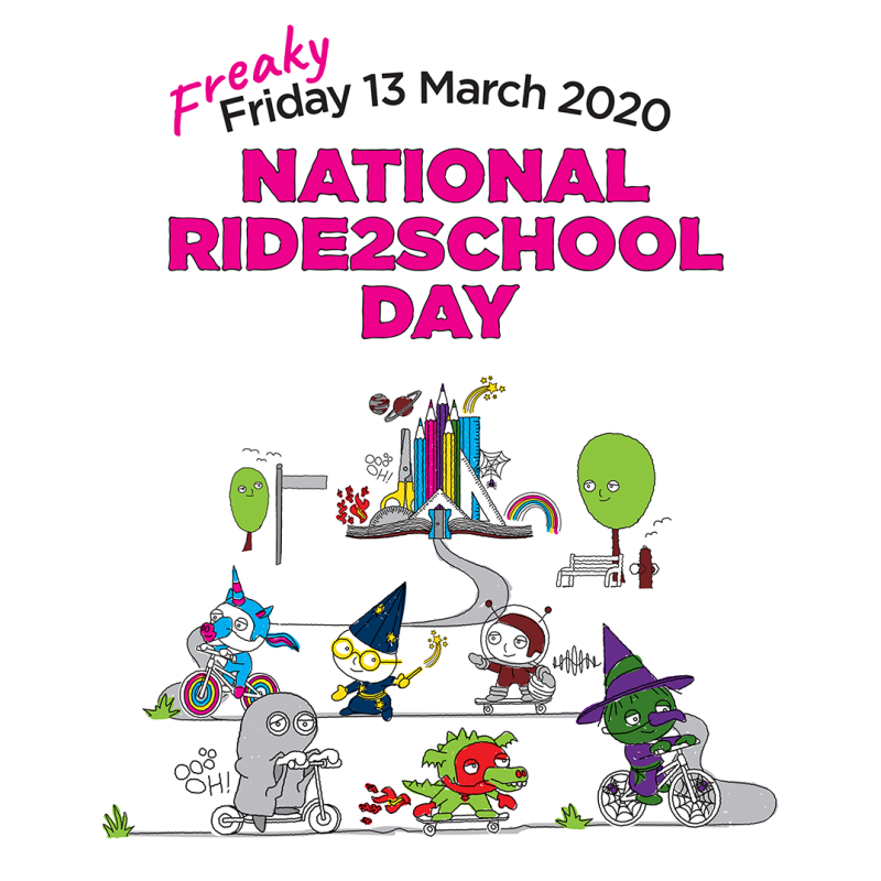 National Ride2School Day social image