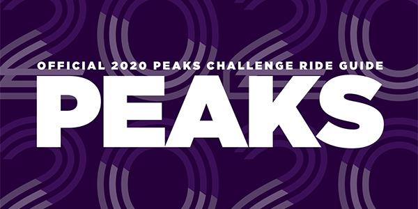 Peaks 2020 Ride Guide