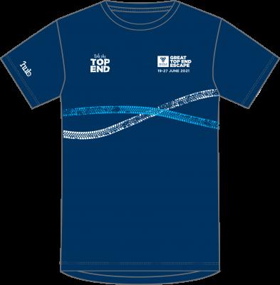 Great Top End Escape 2021 tour t-shirt (front)