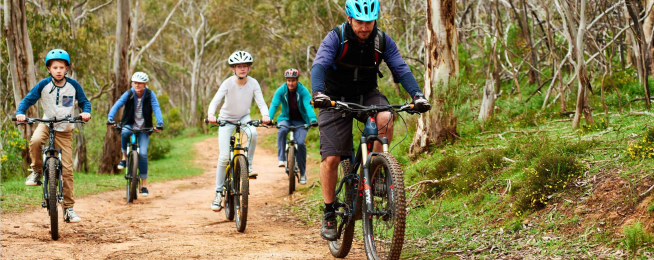 Adelaide Hills bike paths