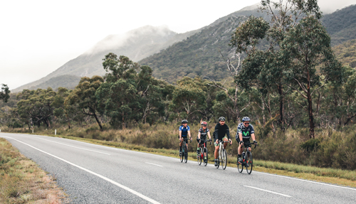 Cycling through the Grampians